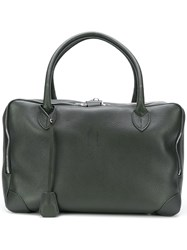 Golden Goose Deluxe Brand Equipage Tote Bag Green
