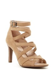 Franco Sarto Quincey Strappy Sandal Brown