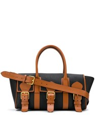 Acne Studios And Mulberry Buckle Bayswater Scotchgrain Tote Bag 60