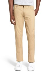 Original Penguin Men's Slim Fit Stretch Cotton Pants Kelp