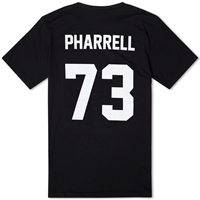 Les Art Ists Pharrell Football Tee Black