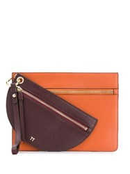 Tila March Annabelle Clutch Brown