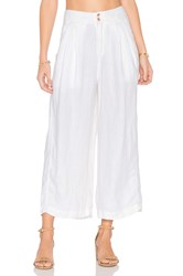 Free People Nomad Linen Trouser White