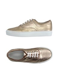 Garment Project Footwear Low Tops And Trainers Women Gold