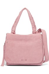 Elizabeth And James Suede Shoulder Bag Pink