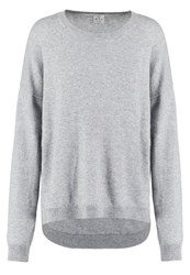 Ftc Jumper Opal Grey Mottled Grey