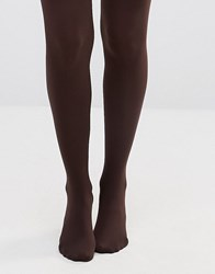 Gipsy 100 Denier Luxury Opaque Tights Rich Chocolate Brown