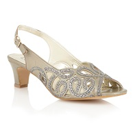 Lotus Harper Court Shoes Gold