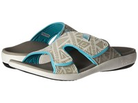 Spenco Kholo Tribal Slide Marshmallow Women's Slide Shoes Blue