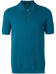 Roberto Collina Classic Polo Shirt Blue