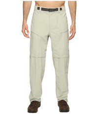The North Face Paramount Trail Convertible Pants Granite Bluff Tan Men's Clothing White
