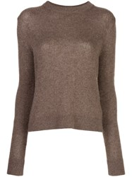 The Row Muriel Cashmere Slim Fit Jumper 60