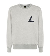 Agolde Craven Oversized Sweater Grey