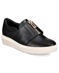 Aldo Women's Afaossi Zip Front Sneakers Black