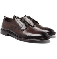 Officine Creative Cornell Leather Derby Shoes Brown