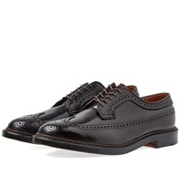 Alden Shoe Company Long Wing Brogue Burgundy