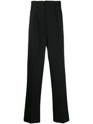 Dolce And Gabbana Side Band Loose Fit Trousers Black
