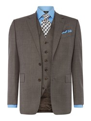 Chester Barrie Albermarle Ff Sharkskin Suit Grey