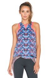 Maaji Blooming The Sky Tank Top Blue