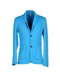 Sun 68 Suits And Jackets Blazers Men Azure
