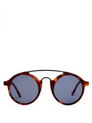 L.G.R Sunglassses Calabar Acetate Sunglasses Brown Multi
