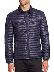 Andrew Marc New York Quilted Puffer Coat Black
