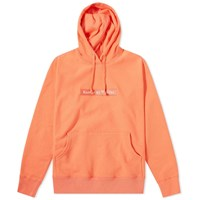 Raised By Wolves Box Logo Popover Hoody Orange