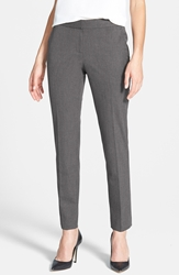 Vince Camuto Skinny Ankle Pants Regular And Petite Medium Heather Grey