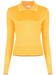 Spacenk Nk Knitted Polo Shirt Yellow