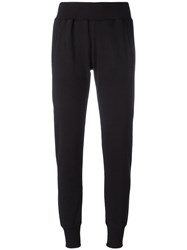 Maison Martin Margiela Mm6 Cropped Sweatpants Black