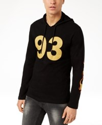 Inc International Concepts I.N.C. Men's Graphic Print Hoodie Created For Macy's Deep Black