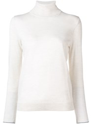 Paul Smith Ps By Turtle Neck Jumper Nude And Neutrals
