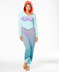 Briefly Stated The Little Mermaid Ariel Hooded Jumpsuit