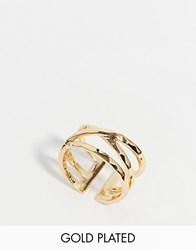 Pilgrim Wrap Ring Gold
