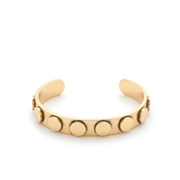 J.Crew Thick Cylinder Cuff Antique Gold