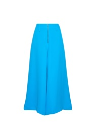 Rosie Assoulin Wide Leg Silk Crepe Trousers