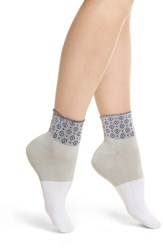 Richer Poorer Celina Ankle Socks Grey