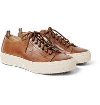 Officine Creative Nomad Leather Low Top Sneakers