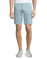 Joe's Jeans Flat Front Trouser Shorts Turquoise Men's