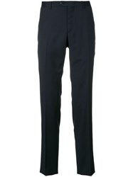 Z Zegna Slim Fit Chinos Blue