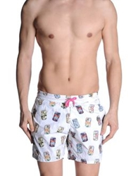 Europann Swimming Trunks White