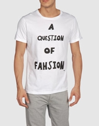 A Question Of Short Sleeve T Shirts White