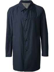 Seventy Reversible Trench Coat Blue