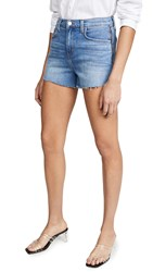 L'agence Ryland High Rise Shorts With Zipper Sydney