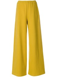 Simon Miller Rian Wide Leg Trousers Yellow And Orange