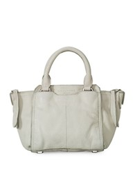 Liebeskind Minya Toredo Leather Satchel Hyena Grey