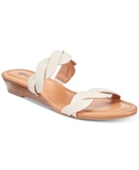 Styleandco. Style Co Wennde Slip On Wedge Sandals Created For Macy's Women's Shoes Oyster