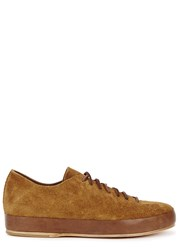 Feit Brown Suede Trainers