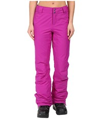 Columbia Bugaboo Pant Bright Plum Women's Outerwear Red