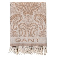 Gant Paisley Throw 130X180cm Seawood